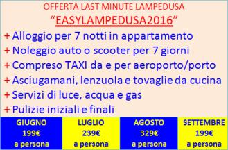 Last minute Lampedusa