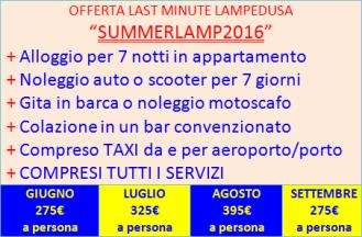 Offerte last minute Lampedusa