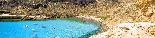 Spiaggia Cala Pulcino Lampedusa