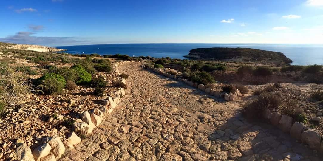 Sentiero Spiaggia Conigli Lampedusa